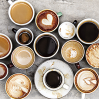 食べ放題にバリエーション豊富なカフェドリンク飲放付!