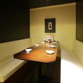 半個室 6名席×2