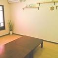 2階の完全個室席。3~12名様までご利用可能。アットホームに楽しめます♪