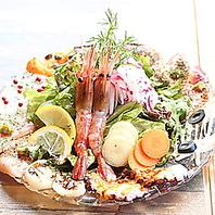 名物、魚魂カルパッチョ。桜木町で新鮮な魚介類を堪能。