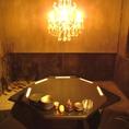 ●お誕生日会に最適☆珍しい五角形のテーブルです♪