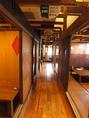 少人数~団体様まで収容可能な個室あります!