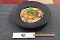 料理メニュー写真鮮魚ムニエルきのこのフリカッセ