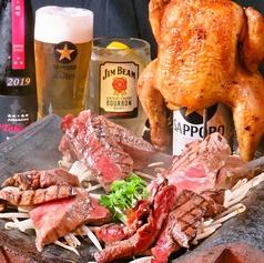 新潟肉バル あべじのコース写真