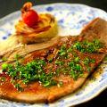 料理メニュー写真牛タンのやわらかステーキ
