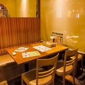【新宿】【新宿三丁目駅徒歩1分】会社宴会や女子会やママ会などの少人数様~大人数様まで人数に応じてレイアウトの変更が可能です。大人数様の場合は一度、店舗までご相談いただけますとご対応させていただきます。