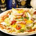 料理メニュー写真ピッツァマルゲリータ/MIXピザ/ベーコンとアンチョビのピザ
