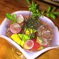 料理メニュー写真【人気No.8】アボカドとまぐろのワサビ醤油和え