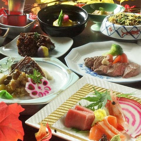 目利きの匠の仕入れ、食の匠の技。北海道の旬の素材に感謝し、おもてなしの心でご提供