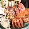 料理メニュー写真築地直送の新鮮食材!