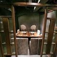 8名様個室地下1階にある8名様用個室は、女子会や合コンなどに最適な少人数様用個室。プライベート空間がしっかり確保されているので、接待などにもご利用頂けます。周りを気にせずおしゃべりやお食事が楽しめます!人気の個室席はお早めのご予約をおすすめします☆
