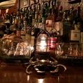 店内インテリアです★お酒も数十種類もあり、レアなお酒まで取り扱っております♪