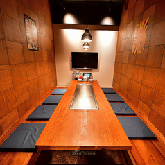 1日限定1組なレアな個室です。6名様~予約可能