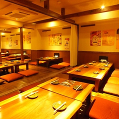 九州隠れ家酒場 雷音 らいおん 心斎橋店の雰囲気1