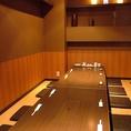 温かみのある空間の掘りごたつ席は12名様まで収容可能!各種宴会にも◎