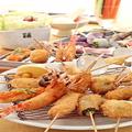 料理メニュー写真おまかせコース(スティック野菜、キャベツ盛、梅昆布茶、アイスクリーム付き)