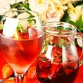 【グラスワインALL300円】大人気♪ワイングラス300円ワインをご用意しております。種類豊富のとてもフレッシュな味わいが楽しめます。♪赤、白ワインを多数ご用意しております♪がブ飲みワインは人気の高いドリンクです!お酒もお料理も値段を気にせずガブガブいけます♪ぜひお越しくださいませ!