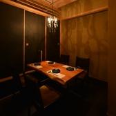 2名様~最大6名様位までのテーブル席の個室です