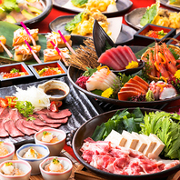 ●ご宴会に♪2H飲放付季節の特選食材贅沢コース3600円~
