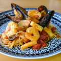料理メニュー写真海の幸のトマトソース