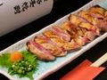 料理メニュー写真宮崎地鶏のたたき(もも)
