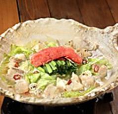 料理メニュー写真明太もつ鍋