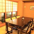 個室は3部屋座敷腰掛テーブル席をご用意しております♪お部屋をくっつけて、人数に合わせて、広々使うこともできます!お気軽にご相談ください。