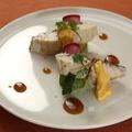料理メニュー写真鮮魚のポワレ ハチミツヴィネガーとオランデーズソース添え