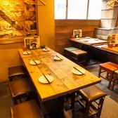6名様用テーブル席★女子会や合コンなど少人数の飲み会におすすめ!