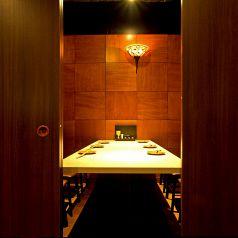 人気の個室テーブル席。5,6名様向け。