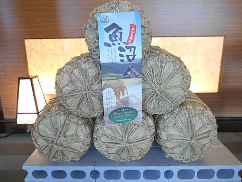 チサンホテル4Fのレストラン。魚沼産コシヒカリと新潟の地酒をお楽しみ頂けます。