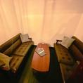 ゆったりソファの個室が登場!!ここでしか楽しめない特別な空間を是非ご堪能ください!