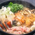 料理メニュー写真山海ちゃんこ鍋