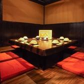 いろり個室(8名~12名)/プライベート空間を大事にしております。ご友人・ご家族とのゆったりとしたお食事を是非お楽しみください
