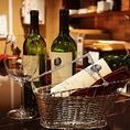ワインのお持ち込みも大歓迎です!コースご注文のお客様は何本持ち込みされても無料で承ります!(アラカルトの場合は1本2000円)