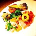 料理メニュー写真アニマリベラ特製旬野菜の前菜三種盛り合わせ
