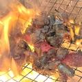 料理メニュー写真地鶏もも炭火焼