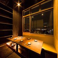 立川の夜景を一望できる夜景個室♪デートや宴会に最適♪