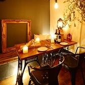 ◆1F 少人数での飲み会もぜひ当店で♪フロアごと違った雰囲気を楽しむことができます。アラカルトやドリンクも種類豊富!!管理栄養士監修のもと作られた料理をコースで複数ご用意。チーズフォンデュ食べ放題3,500円~とお安くなっています。