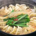 料理メニュー写真やみつき炊き餃子鍋