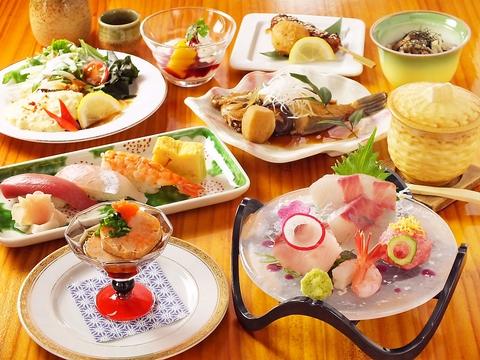 日本テレビ「満天青空レストラン」で紹介された人気店!新鮮な魚介を毎日仕入れ!