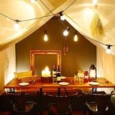 ◆1F スタイリッシュなテーブル席《2名~4名様》記念日やデートにも◎大人な雰囲気で美味しいお酒とお料理をお楽しみください。3・4・6・8・12・16・20名様まで
