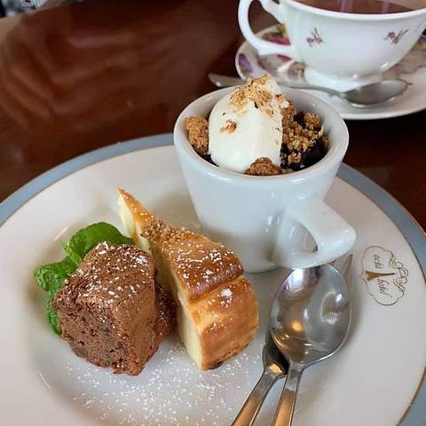 【カフェタイムに♪】『デザートとコーヒーのセット』930円(税込)