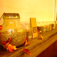 珈琲豆の種類は10種類以上!