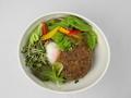 料理メニュー写真yebisuハンバーグのロコモコ
