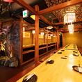 全席完全個室で2名様~70名様まで人数に合わせた完全個室をご用意♪素材からこだわった創作和食や旬の食材を使った季節料理をお届けします!!東京での食の旅をお楽しみください♪東京での接待や女子会、誕生日会、各種ご宴会に最適なプランをご用意しております♪