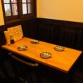 1階にもテーブル席あり♪注文もしやすい雰囲気が◎