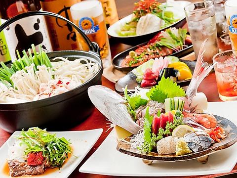 The 居酒屋☆刺身やモツ煮込み、串焼鳥、串焼とんが旨い!お酒も豊富に揃います!!