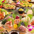 少人数からの飲み会、歓送迎会に最適!当店がお届けするご宴会コースは2980円~!九州の厳選食材や九州各地の『旨い!』を集め、メインに当店が絶対食べてもらいたい名物料理がズラリ♪ボリューム満点で2時間の飲み放題が付いた「味」「質」「量」満足の内容♪鍋付き宴会コースは博多もつ鍋or宮崎地鶏鍋からお選びください