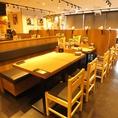 【水道橋】簡単に席替えできるテーブル席